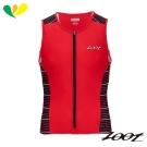 ZOOT 專業級全拉式肌能鐵人上衣(男) Z1706020(速線紅)