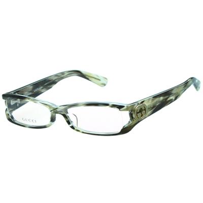 GUCCI-時尚光學眼鏡(大理石紋)