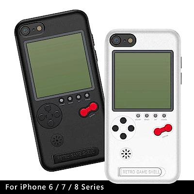 KOOSTYLE 第二代懷舊遊戲機手機背蓋(適用iPhone6/7/8)