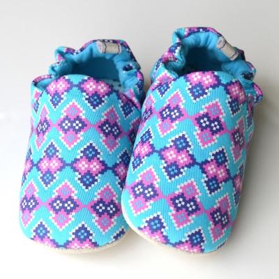 英國 POCONIDO 手工嬰兒鞋 (萬花筒)