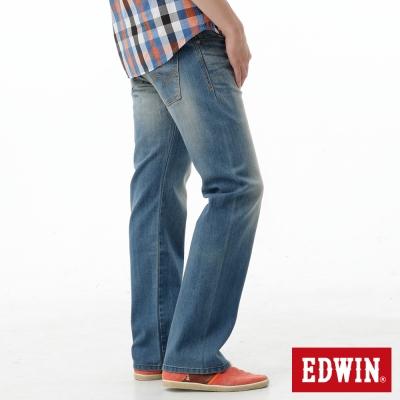 EDWIN 中直筒 503 ZERO無接縫牛仔褲-男-漂淺藍