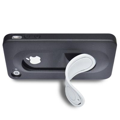 Metal-Slim Apple iphone 4/4S 可站立保護殼
