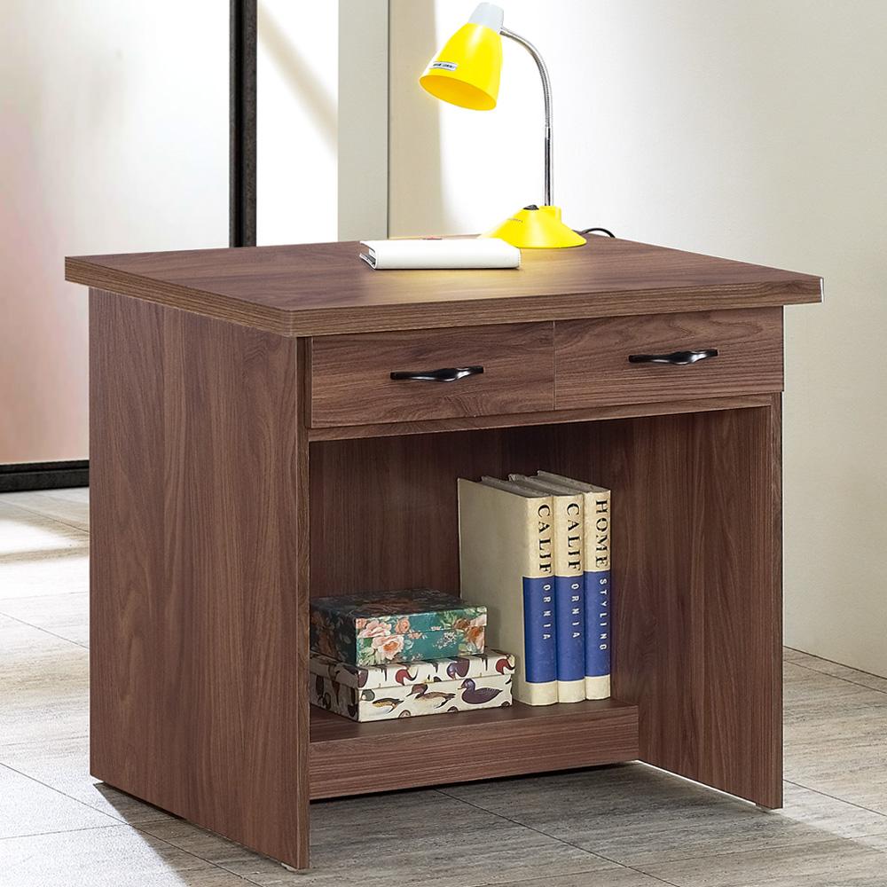 Homelike 蓋理2.7尺二抽書桌-81x60x75cm