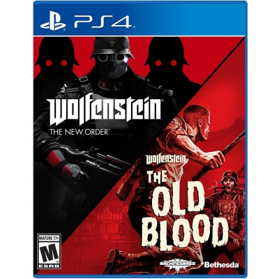德軍總部 合輯 新秩序+舊血脈  Wolfenstein The Two-PS4 英文美版