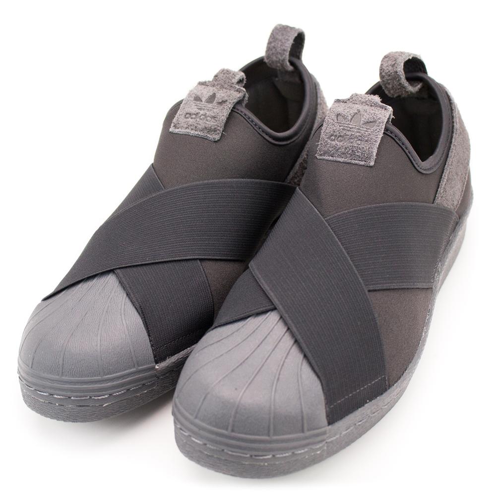 24H-ADIDAS-男休閒鞋BZ0209-灰