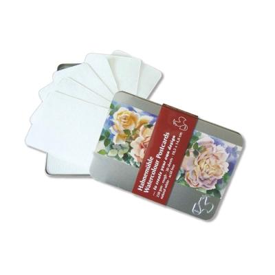 德國Hahnemuhle - Postcards 水彩明信片(金屬鐵盒裝)30張