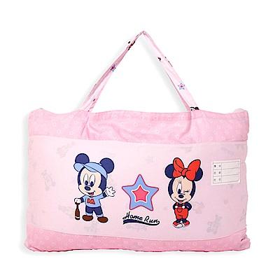 Disney 運動米奇兩用睡袋(粉)