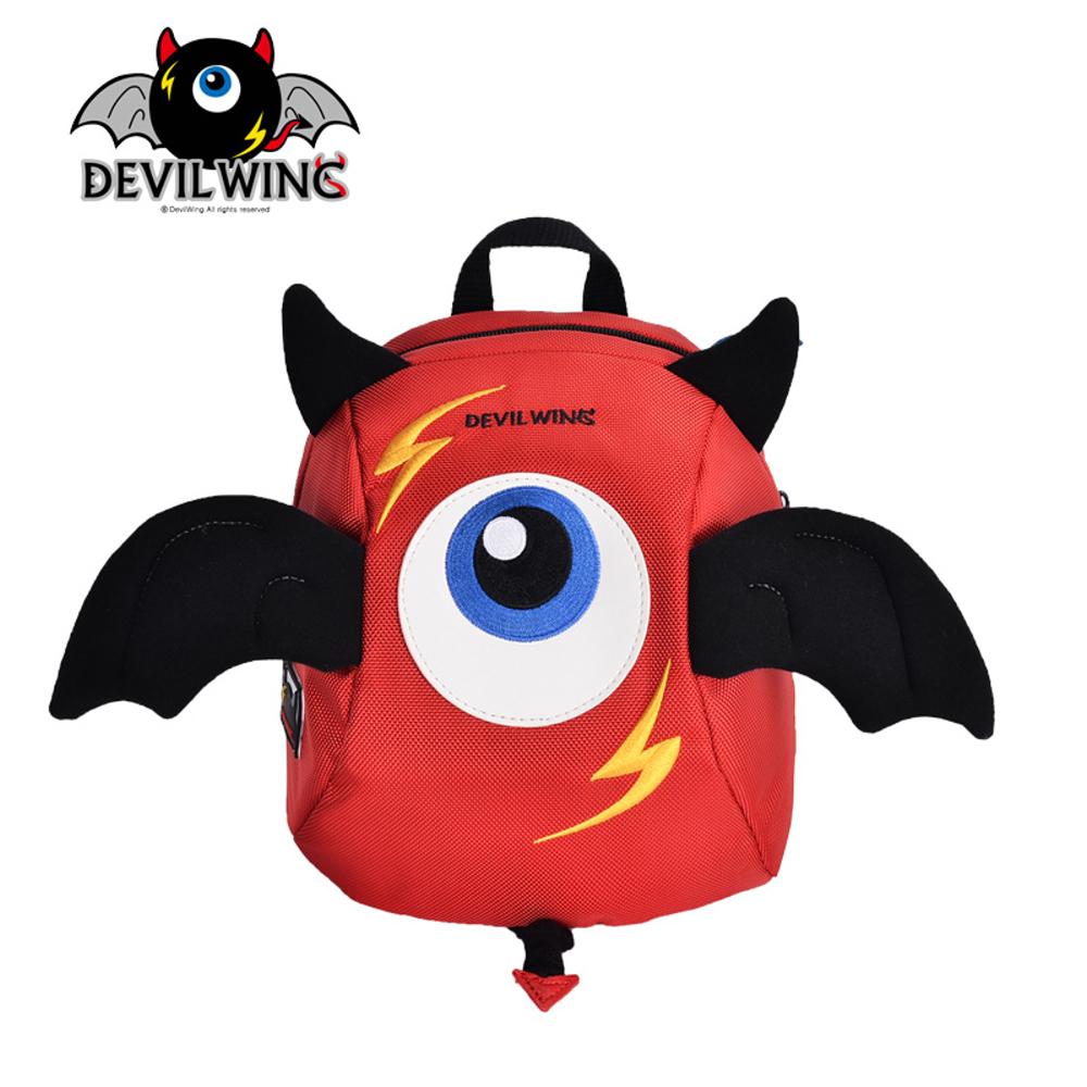 韓國 Devil Wing 小惡魔翅膀幼兒防走失背包(書包)-紅