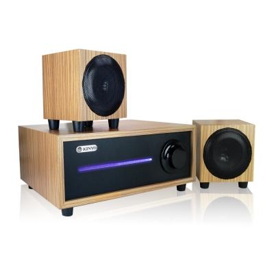 KINYO音樂大師2.1聲道全木質音箱KY1601