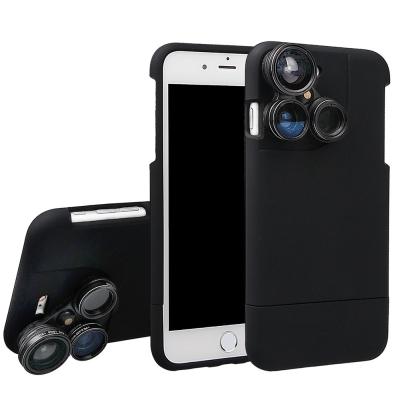 iStyle iPhone 7/8 plus 5.5吋 廣角微距魚眼偏光四合一鏡...