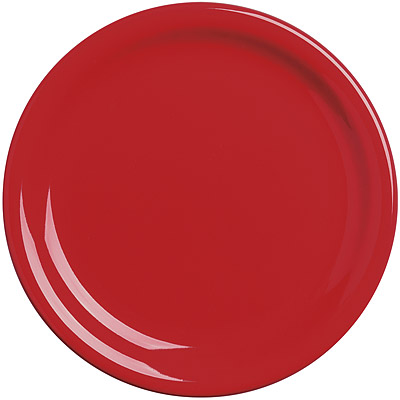 EXCELSA Fashion陶製淺餐盤(紅19.5cm)