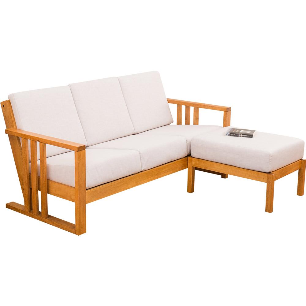 日木家居 Perry珀里實木L型沙發