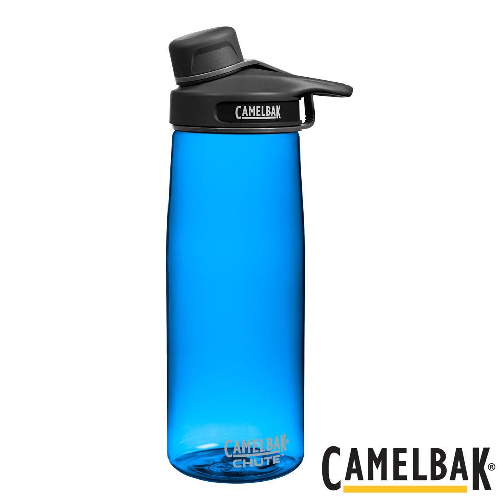 《CAMELBAK》戶外運動水瓶 閃電藍 750ml (CB53888)