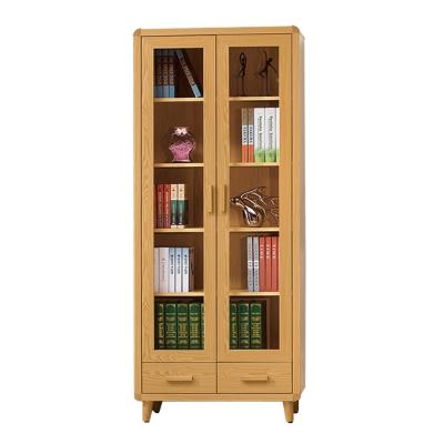 ROSA羅莎 溫斯敦原木色2.7尺下抽書櫃