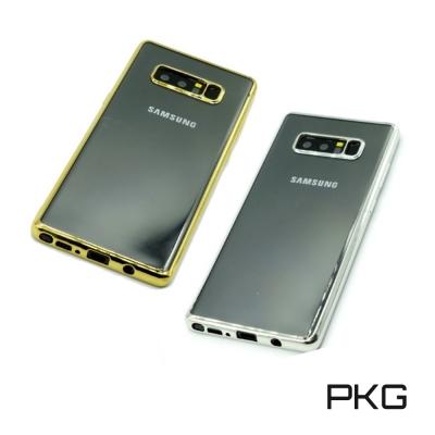 PKG  SAMSUNG NOTE8 手機殼-超透電鍍邊