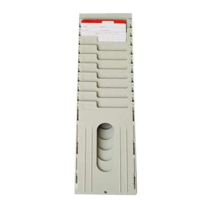 打卡鐘10人份組合式塑膠卡匣(大卡適用)
