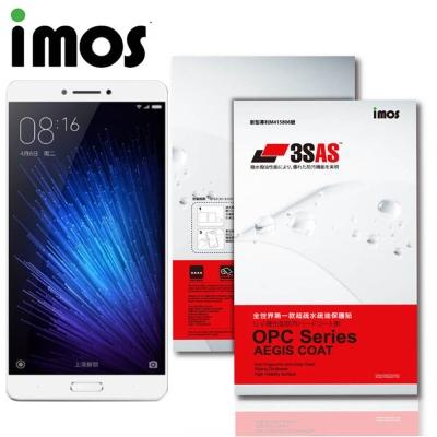 iMos 小米 Max 2 3SAS 疏油疏水 螢幕保護貼