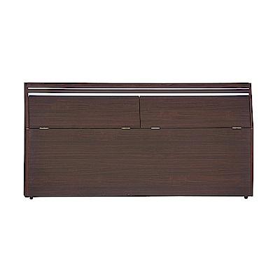 AS 安迪6尺胡桃色床頭箱 185.5x30x77cm