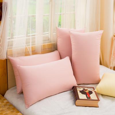 Annabelle粉彩純棉羽絲絨枕一對