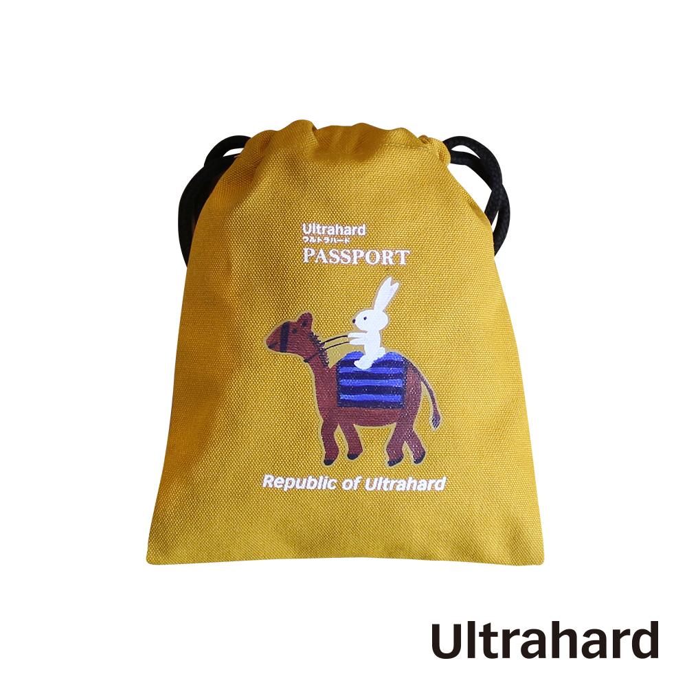 Ultrahard 月見兔束口袋-騎駱駝