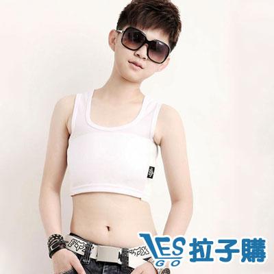 束胸-超值套頭半身-白-LESGO束胸專賣