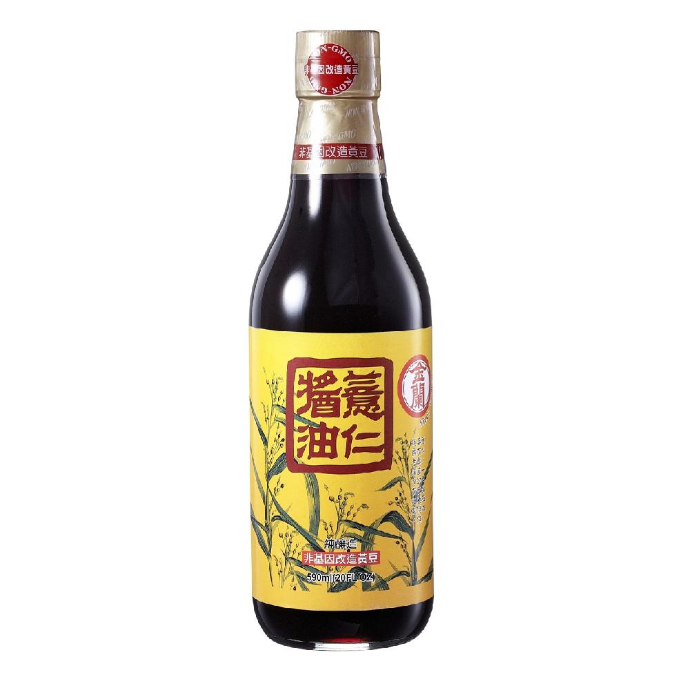 金蘭 薏仁醬油(590ml)