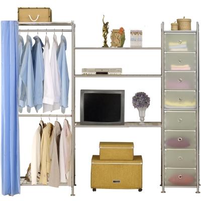巴塞隆納─W2型60+90+D電視衣櫥置物櫃