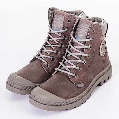 PALLADIUM-男女休閒鞋73231350-咖