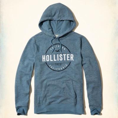 Hollister HCO 長袖 帽T 藍色 0171