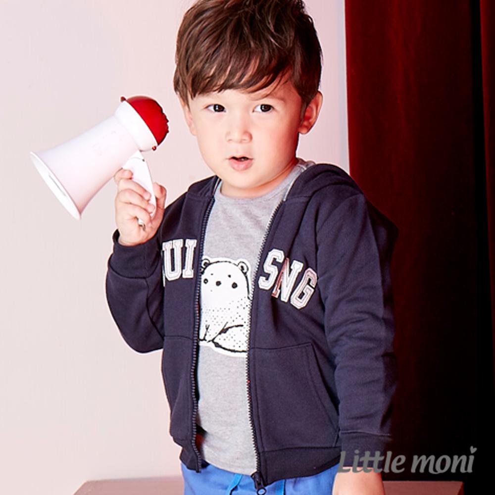 Little moni 美式休閒連帽外套 (共2色)
