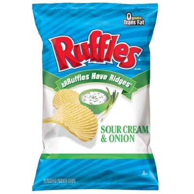 RUFFLES波樂 香蔥口味洋芋片(184.2g)