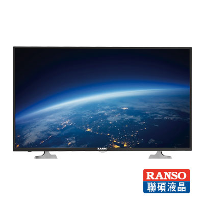 RANSO聯碩-49型-低藍光-LED液晶顯示器-視訊盒-49R-DF2