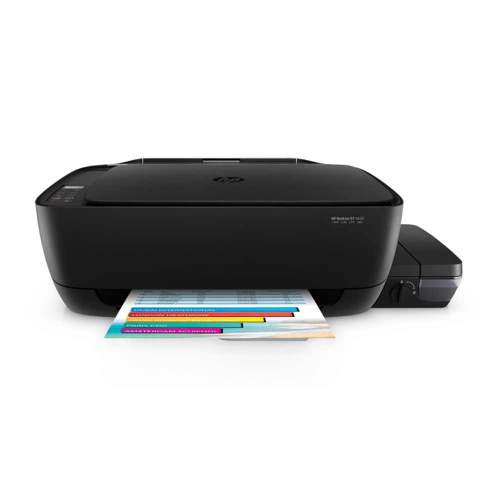 HP DeskJet GT 5820 無線連續供墨印表機(wifi/影印/列印/掃描)
