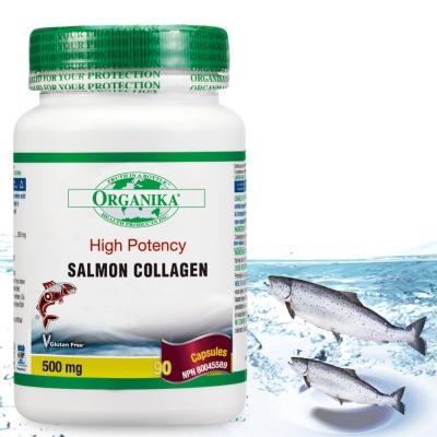 Organika優格康-鮭魚膠原蛋白膠囊500mg(90顆)