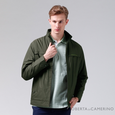 ROBERTA諾貝達-禦寒極品-經典休閒-厚舖棉夾克外套VOD51-49深綠