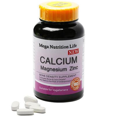 美國Mega 新鈣鎂鋅錠90顆