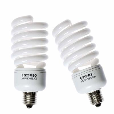 攝影棚專用50W省電燈泡標準色溫燈泡2入-免調白平衡