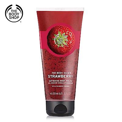 The Body Shop 草莓嫩白沐浴果醬200ML