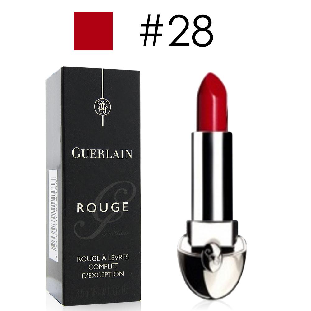 GUERLAIN嬌蘭 紅寶之吻唇膏3.5g#28牡丹紅新年限量版