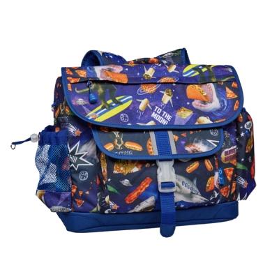 美國Bixbee - 彩印系列太空漫遊中童輕量舒壓背書包