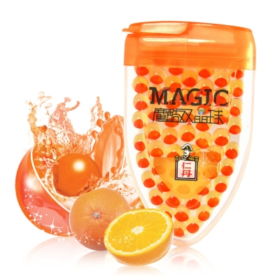 森下仁丹-魔酷雙晶球-甜蜜柑橘-5盒