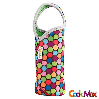 【COOKMAX】環保繽紛點點飲料/保溫瓶提袋