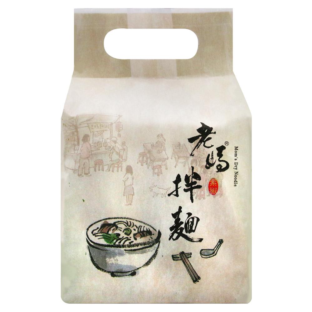 老媽拌麵 素椒麻醬(128.5gx4包)