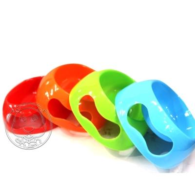 寵物專用可愛糖果色單碗|食碗|水碗(顏色隨機出貨)
