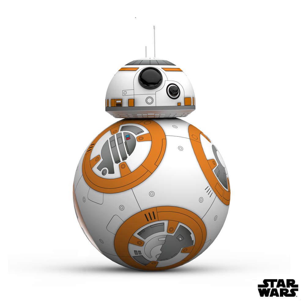 STAR WARS 星際大戰 原力覺醒 擬真版BB-8 智能機器人