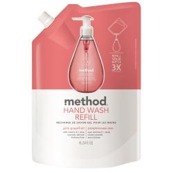 Method 美則 粉紅葡萄柚天然洗手乳(補充包) 1000ml