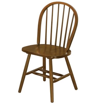 品家居 伊文實木餐椅-43x40x93cm-免組