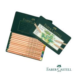 Faber-Castell PITT藝術家級粉彩色鉛筆12色