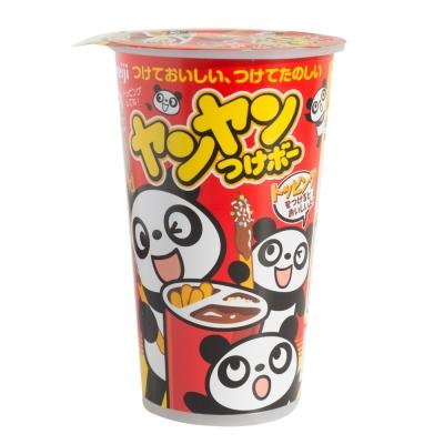 明治 洋洋棒餅乾-巧克力口味附糖粒(48g)