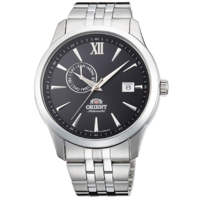 ORIENT 日本 東方錶 聖殿騎士 機械錶(FAL00002B)黑/43mm